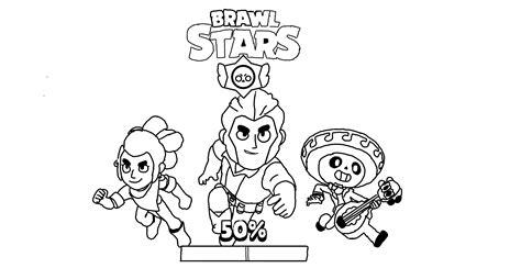 brawl tutti i personaggi disegni disegni da colorare brawl