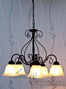 Hängelampe 5 Flammig : reich verzierte pendelleuchte h ngelampe in mattschwarz 5 flammig e14 230 volt decken ~ Whattoseeinmadrid.com Haus und Dekorationen