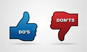 Do's and don ts of a resume