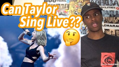 Taylor Swift Best Tour Vocals Reaction - YouTube