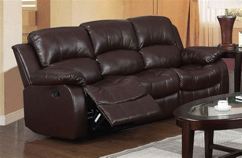 brown leather settee sale carlino recliner 3 seater sofa brown leather