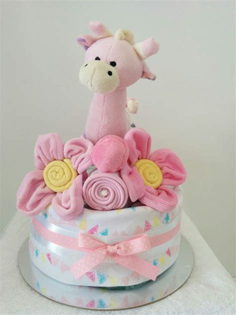 baby girl nappy cakes images  pinterest nappy