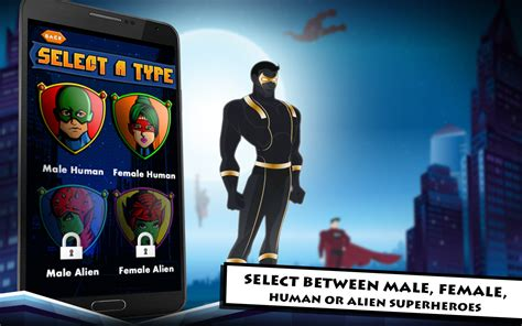 superhero maker apk  role playing android game