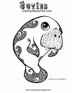 Manatee Information Coloring Pages Coloring Home