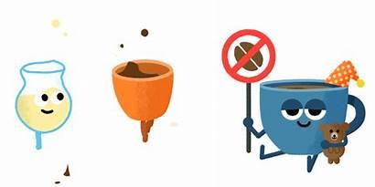 Google Stickers Caffeine Rush Allo Rough Behance