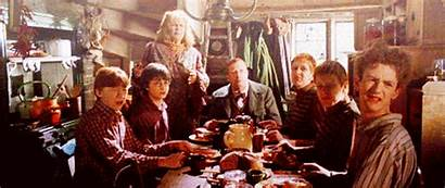 Weasley Potter Harry Families Percy Fictional Thanksgiving