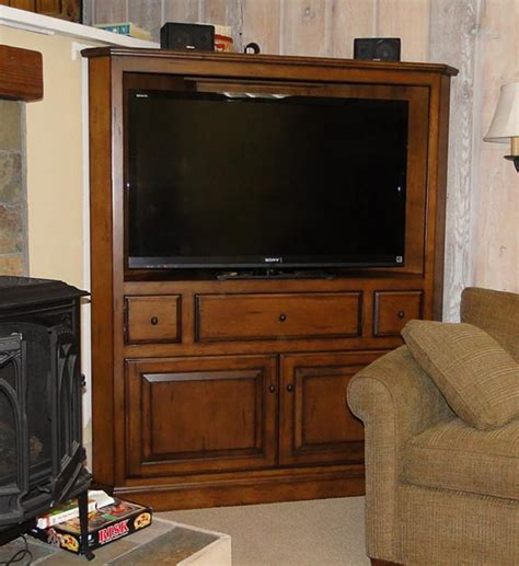 tv hutch tv corner cabinet