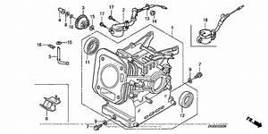 Honda Engines Gx200 Vgg2  A Engine  Jpn  Vin  Gcae