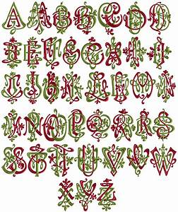 41 art nouveau double 2 letters embroidery monograms With embroidery machine for lettering