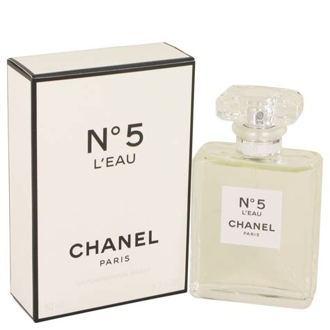 chanel no 5 l eau by chanel eau de toilette spray 1 7 oz for