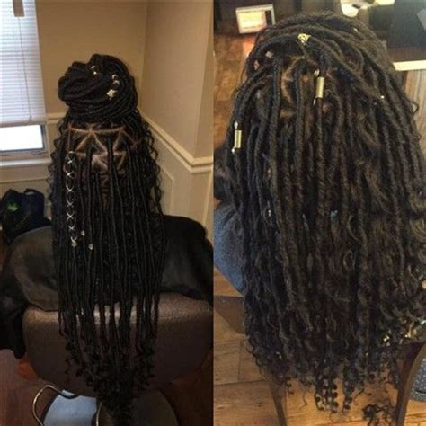 beautiful faux locs hairstyles  braided hairstyles