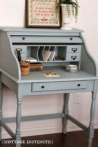 How To Make A Small Secretary Desk - WoodWorking Projects