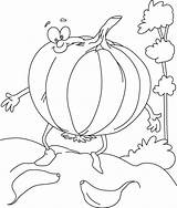 Garlic Coloring Cartoon Drawing Pages Getdrawings sketch template