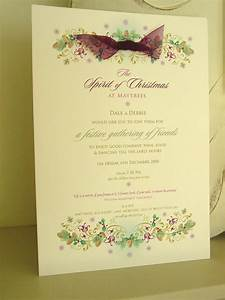 Christmas wedding invitations paper pleasures wedding for Xmas wedding invitations uk