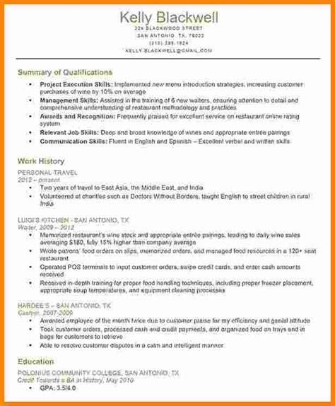 Qualification Resume Pdf by 6 Qualification Sles Ledger Paper