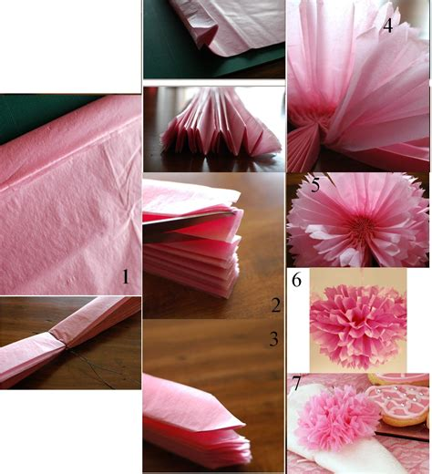 pompon  faire soi meme diy communion idee deco