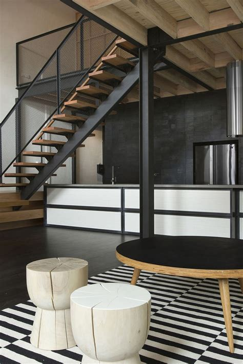 Best Ideas About Industrial Stairs On Pinterest