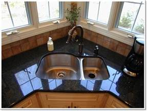 kitchen sinks ideas 25 creative corner kitchen sink design ideas
