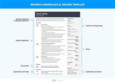 How To Do A Resume On Word by What Should A Resume Look Like In 2019 Best Exles 20