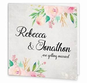floral beauty folding wedding invite loving invitations With floral wedding invitations ireland