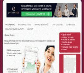 ina offre d emploi options binaires medias net