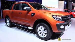 Ford Ranger Interieur : 2015 ford ranger wildtrack exterior and interior walkaround 2015 geneva motor show youtube ~ Medecine-chirurgie-esthetiques.com Avis de Voitures