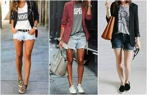 7 maneiras de usar shorts jeans - Site de Beleza e Moda