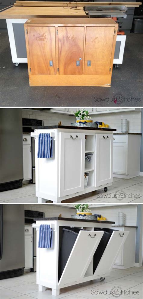 diy kitchen furniture 20 awesome makeover diy projects tutorials to