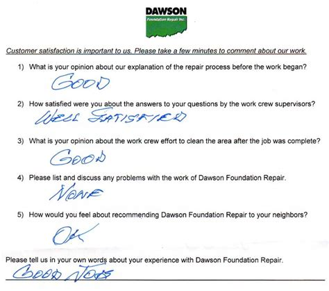 foundation repair  houston dawson foundation repair