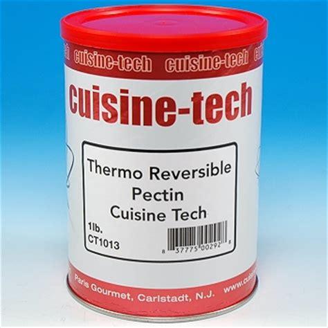cuisine itech pectin thermoreversible