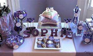 Everything Purple Baby Shower Party Ideas Photo 1 of 12