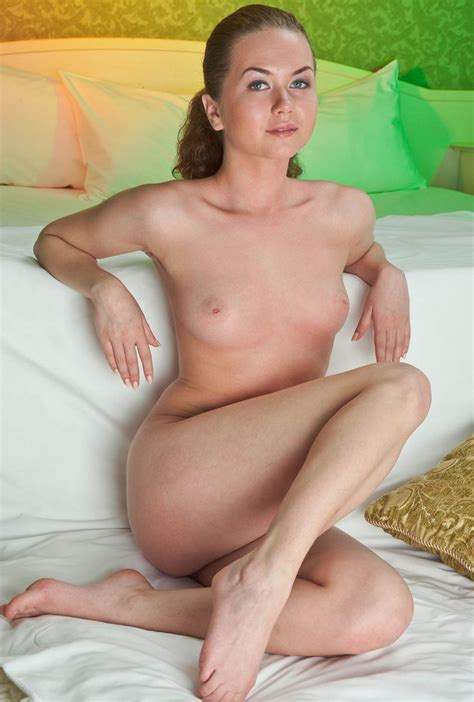 Curly russian milf With Small Tits And Shaved Pussy In Bed russian sexy Girls