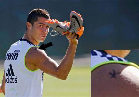 Sports Stars Info Cristiano Ronaldo Tattoo 2012