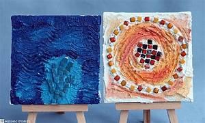Basteln Mit Mosaiksteinen : kinder basteln weihnachtsgeschenke bild mit mosaik und spachteltechnik ~ Whattoseeinmadrid.com Haus und Dekorationen