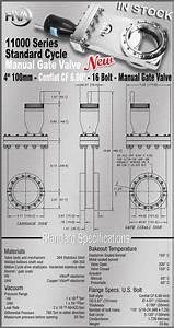 New Hva Cf Conflat Cf 6 00 Inch Od  Cf Cff 6 Inch  Manual