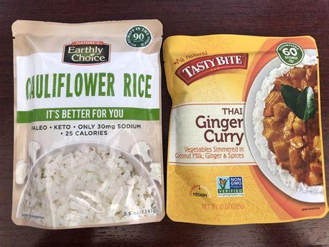 What to eat with cauliflower rice? Cauliflower Rice From Costco - Cauliflower Rice Pouches At ...