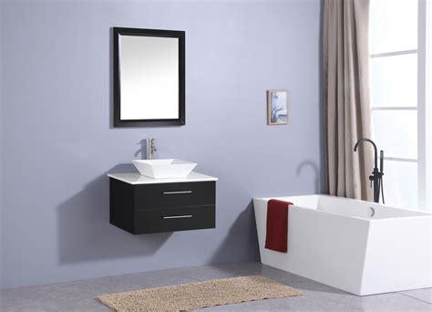 Modern Bathroom Counter by Totti Wave 24 Inch Espresso Modern Bathroom Vanity With