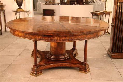 round table seats 8 furniture extra large round mahogany dining table large