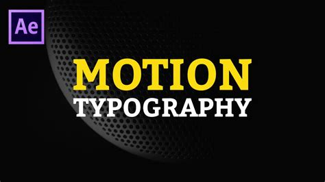 after effects motion typography after effects templates motion array