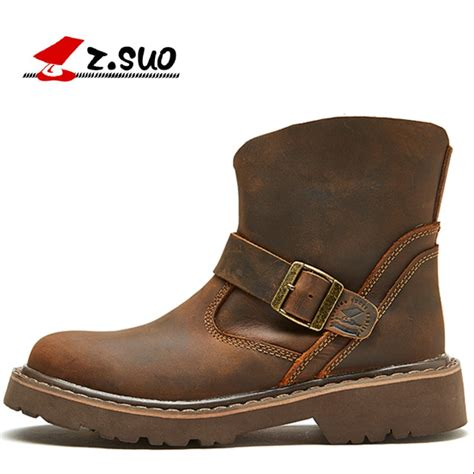 Quality Handmade Genuine Leather High Top Ankle Boots