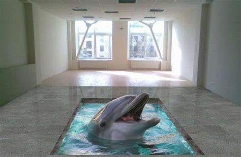 22 Incredibly Realistic 3D Floor Designs Bring The Ocean