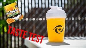 Orange Caffeine Free Gfuel Taste Test
