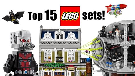 best of lego top 15 lego sets