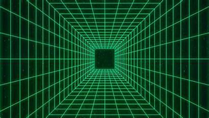 Grid Loop Aesthetic Vaporwave Tunnel Synthwave Atd