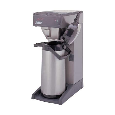 machine à café grande capacité pour collectivités et bureaux machines hotels bravilor th 10 cafetière