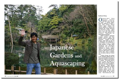 Aquascaping Magazine by Aquascaping World Magazine Japanese Gardens And Aquascaping