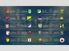 Calendario Liga Águila 2018I