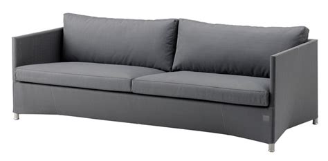 3 seater sofa grey couture outdoor