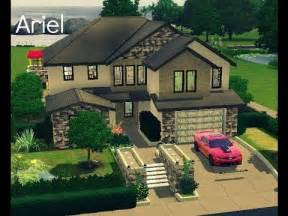 simple big family houses ideas photo sims 3 house building ariel family home