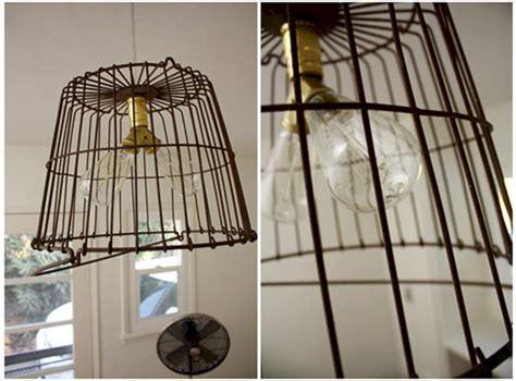 Hanging Wire Basket Light Fixture (Hanging Wire Basket